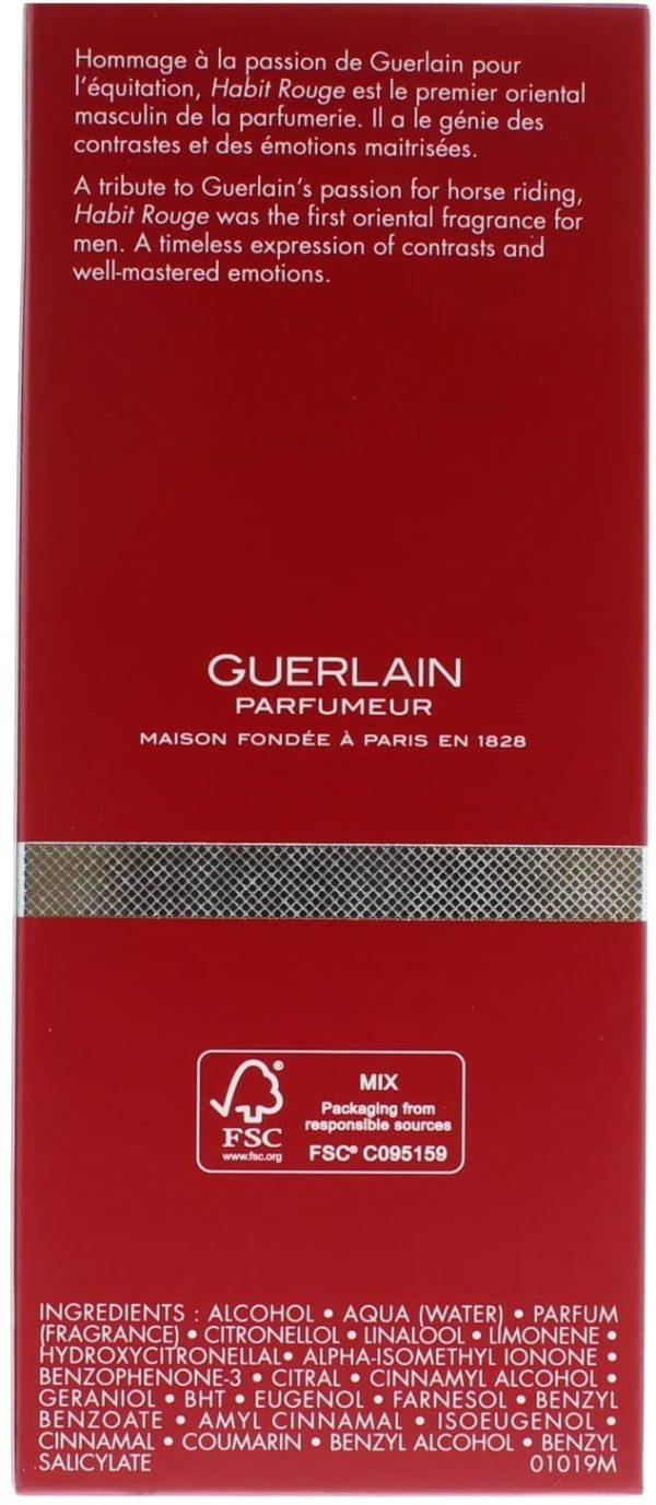 GUERLAIN HABIT ROUGE (M) EDP 100ML