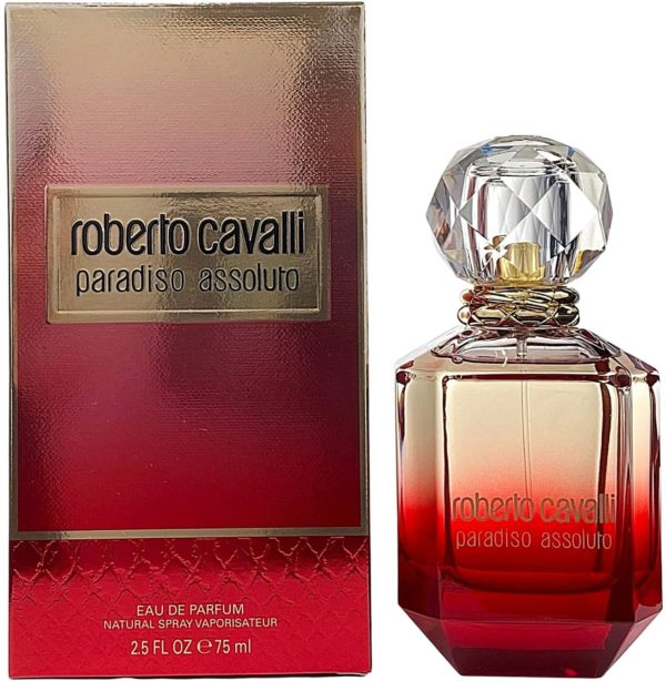ROBERTO CAVALLI PARADISO ASSOLUTO (W) EDP 75ML
