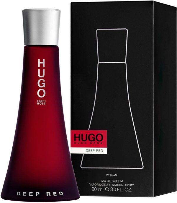 HUGO BOSS DEEP RED (W) EDP 90ML