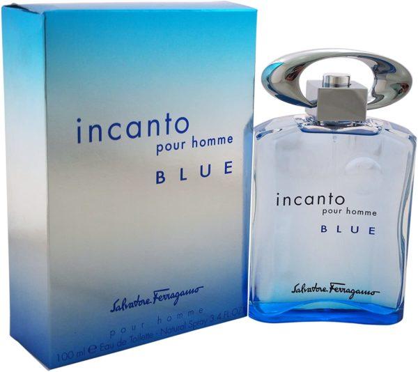 SALVATORE FERRAGAMO INCANTO BLUE (M) EDT 100ML