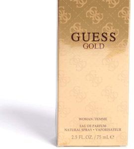 GUESS GOLD (W) EDP 75ML