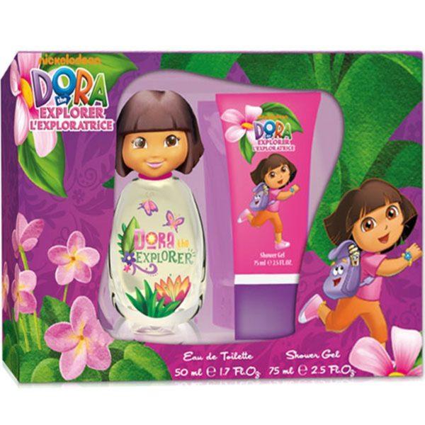 Dora the Explorer L'Exploratrice Kids G Edt 50Ml + S/G 75