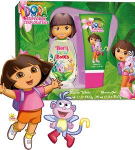 Dora & Boots L'Exploratrice Kids G Edt 50Ml + S/G 75