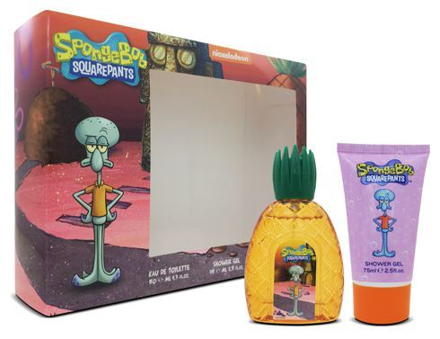 Spongebob Squarepants Squidward Set Kids Edt 50Ml + S/G 75Ml