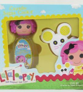 Lalaloopsy Crumbs Sugar Cookie Kids G Edt 50Ml + Hair Acc.